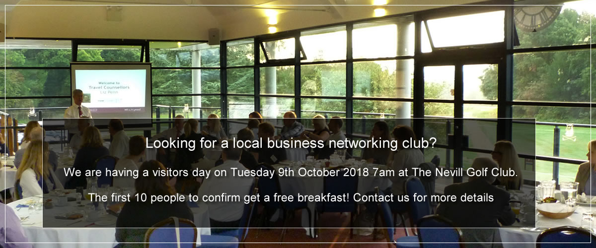 ABC business networking meeting Tunbridge Wells